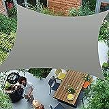 Awroutdoor 2x3m Toldo Vela de Sombra Rectangular, Protecció