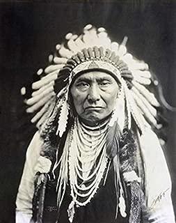 Chief Joseph Nez Perce 1903 Poster Print by Edward S Curtis (24 x 30)