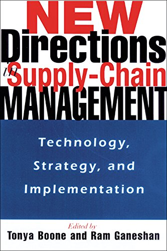 New Directions in Supply-Chain Management: Technology, Strategy, and Implementation (English Edition)