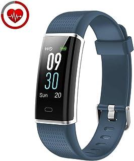 comprar comparacion YAMAY Pulsera de Actividad Inteligente con Pulsómetro, Impermeable IP68 Smartwatch con 14 Moda Deportiva, Podómetro Pulser...