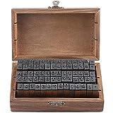 Sello Alfabeto Conjunto, 70 Piezas Set Estampado, Letras Abecedario Sellos, Letras Abecedario En...