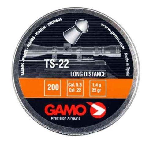 Gamo 632176854 TS-22 PELLETS .22 CAL. TINS OF 200 - BLI