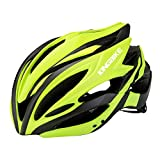 Ynport Crefreak Casco de bicicleta ligero protección solar integrado Ciclismo casco adulto cabeza protección casco deportes equipo para bicicleta