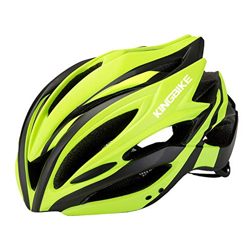 Ynport Crefreak Casco de bicicleta ligero con protección solar integrado para adultos, protección de la cabeza, equipo deportivo para bicicleta