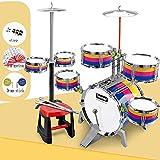 Batería de los niños y jazz tambor tambor juego de percusión instrumento de percusión