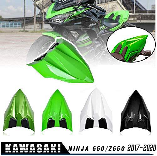 Lorababer for NINJA 650 Z650 17 18 19 20 Accessories Rear Seat Cowl Fairing Cover Cowl ABS Plastic Green Black White for Kawasaki NINJA650 Z 650 2017 2018 2019 2020 (Black)