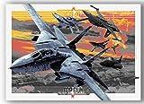WZGJZ Top Gun Film Poster Druckt Kunst Leinwand Wandmalerei