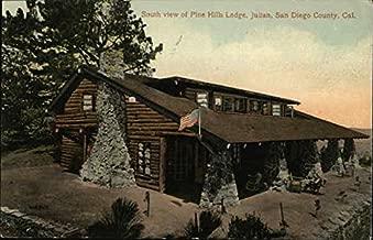 pine hills lodge julian