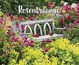 Rosenträume - Kalender 2021 - Art-Format - Friedrich Strauss - Korsch-Verlag - Fotokalender - Gartenkunst - 54,7 cm x 46 cm