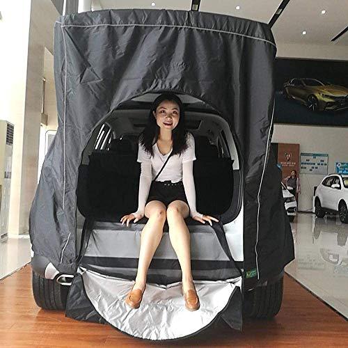 LLSS Dachzelt Auto Hinterdach Outdoor-Ausrüstung Camping Zelt Baldachin Heck Ledger Picknick Markise für Volkswagen Skoda Mazda Honda Toyota Nostandbar