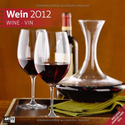 Wein 2012 Art12 Collection: Broschürenkalender