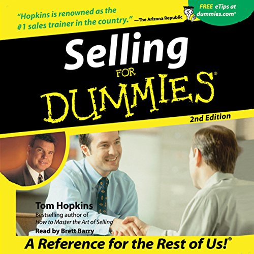 Selling for Dummies, Second Edition audiobook cover art