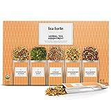 Tea Forte Organic Herbal Tea Sampler, Single Steeps Loose Leaf Tea...