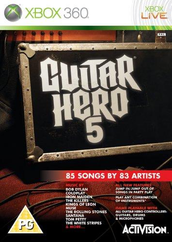 Guitar Hero 5 - Game Only (Xbox 360) [Importación inglesa]