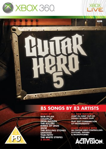 Guitar Hero 5 - Game Only (Xbox 360) [Importación inglesa]