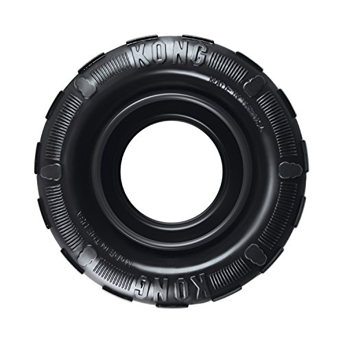 KONG - Tires - Durable Rubber Chew Toy and...