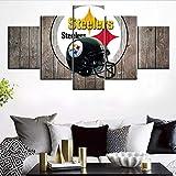 SILUYU Wandkunst Für Wohnzimmer Usa Flagge Moderne