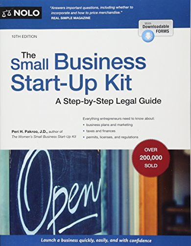 The Small Business Start-Up Kit: A Step-by-Step Legal Guide PDF Books