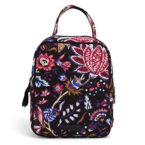 Vera Bradley Women's Vera Bradley Women s Signature Cotton Lunch Bunch Lunch Bag Foxwood One Size, Foxwood, One Size US