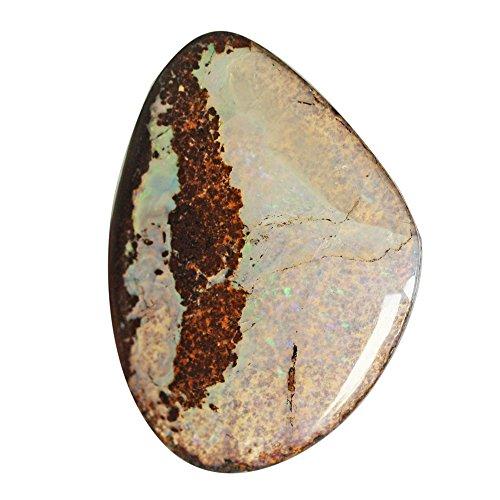 Cabujón de ópalo, piedra natural australiana, suelto, semiprecioso, tamaño 31 x 23 x 6 mm, proveedores, colgante cabujón AG-5075