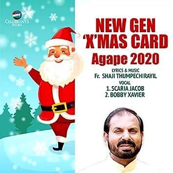 New Gen Xmas Card - Agape 2020