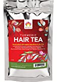 Shifa Hair Tea with Turmeric: Replenishing Tonic for Clarifying Scalp and Strong Healthy Hair with...
