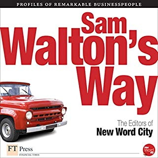 Sam Walton's Way audiobook cover art