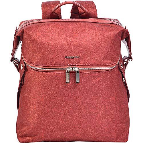 Hedgren Paragon M Fashion Rucksack Geldbörse, Größe M, Rost Paisley (Orange) - HPRI01M/824-03