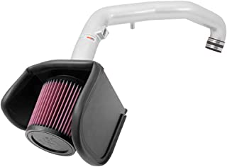 K&N Performance Air Intake Kit 69-4530TS with Metal Tube and Lifetime Red Oiled Filter for 2009-2015 Cadillac CTS-V 6.2L V8