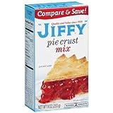 Jiffy Pie Crust Mix, 9 Oz Box (Pack of 4)