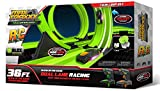 Max Traxxx 098216 R/C High Speed Remote Control Twin Loop Track Set with Two Cars for Dual Racing