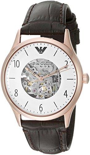 Emporio Armani Men's AR1920 Dress Black Leather Watch