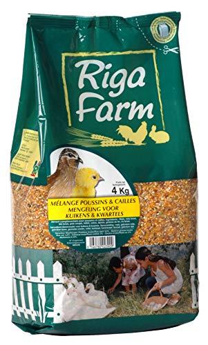 Riga - Miscela per pulcini e quaglie, 4 kg