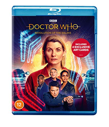 Doctor Who - Revolution of the Daleks (Includes 4 Exclusive Artcards) [Blu-ray] [2020]