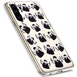 MoreChioce Compatibile con Custodia Huawei P30 PRO TPU Cover Silicone,Cristallo Chiaro Tra...