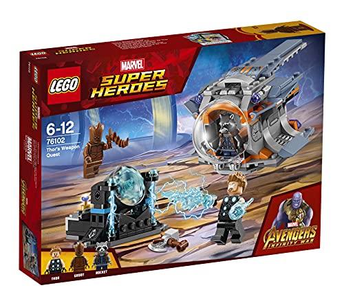 LEGO 76102 Super Heroes La ricerca dell'arma suprema di Thor (Ritirato dal Produttore)