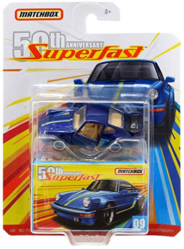 Matchbox 50th Anniversary Super Fast '80 Porsche 911 Turbo