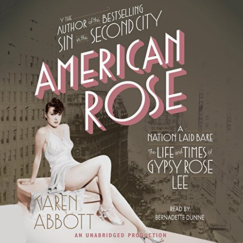 American Rose audiobook cover art