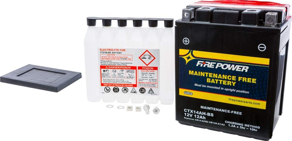 Fire Power Maintenance Free Battery CTX14AH-BS P With Nashville-Davidson Sale Mall Compatible