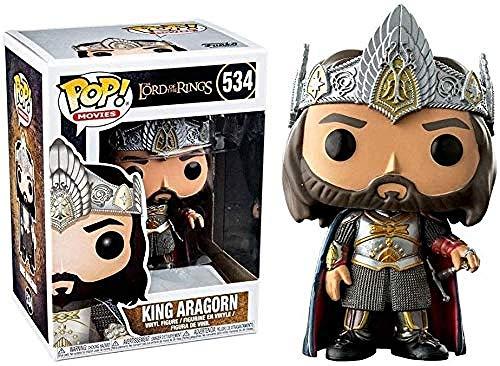 CFFEFN Le Seigneur des Anneaux Figure Pop! King Aragorn Exquisite Vinyl Collection Vinyle de Films Series