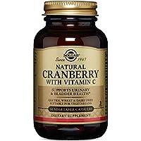 Solgar® Arándano Rojo con Vitamina C para el tracto genitourinario y como antioxidante - 60 cápsulas Vegetales
