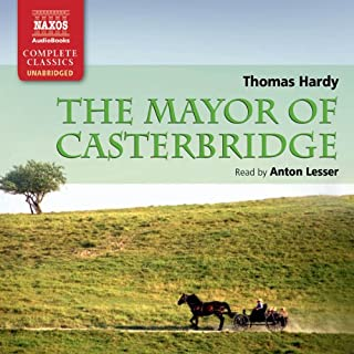 Hardy: The Mayor of Casterbridge audiobook cover art