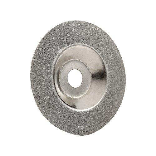 wifehelper slijpsteen van glas, 4 inch, rond, met diamantcoating, voor haakse slijper, buitendiameter van de slijpschijf, 100 mm