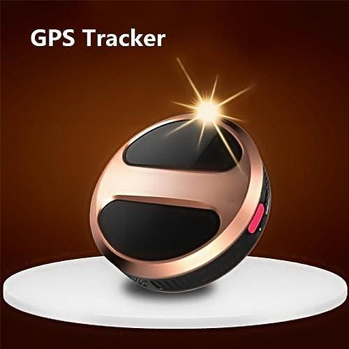 TKSTAR Mini Portable GPS Tracker Waterproof Smart Finder GPS Pet Tracker Personal Micro GPS Locator for Children, Pets, Cats, Dogs, Vehicles, Motorbikes with Google Maps SOS Alarm TK08