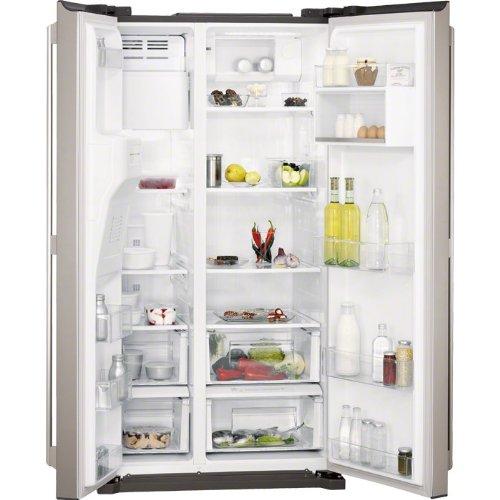 💠 Comprar neveras side by side AEG S76090XNS1con dispensador de agua y hielo