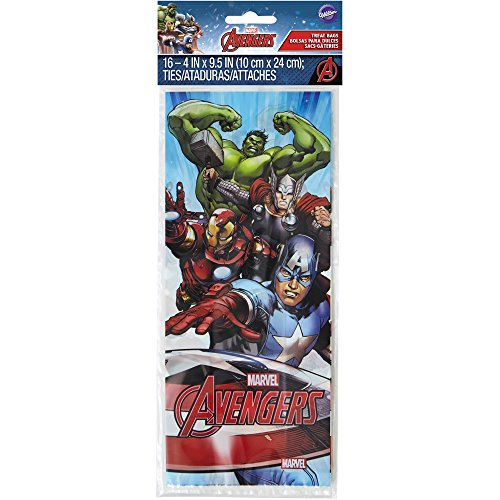 Price comparison product image Wilton 16 Count Marvel Avengers Treat Bags
