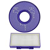 SPARES2GO Pre + Post Motor HEPA Filters For Dyson DC26 DC26i Vacuum Cleaner by...