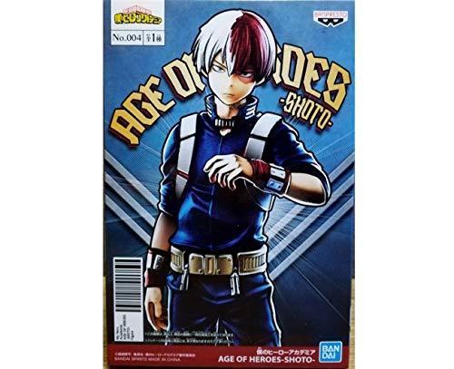 Banpresto. Boku no Hero Academia Figure Todoroki Shouto My Hero Academia Age of Heroes Ahora Disponible!