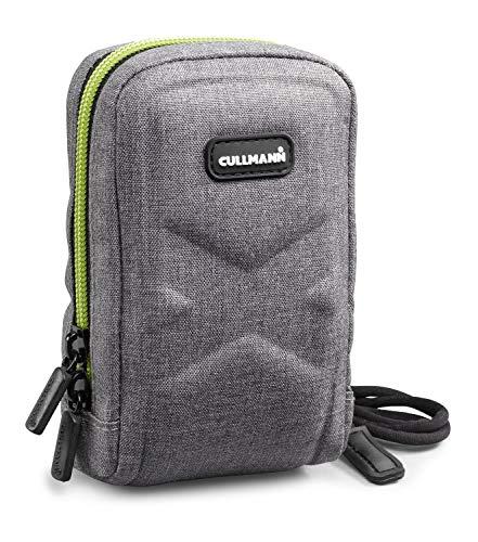 Cullmann - 91591 - Oslo Compact 400 Borsa per fotocamere compatte (dimensioni interne 70x120x50mm), grigio/limone