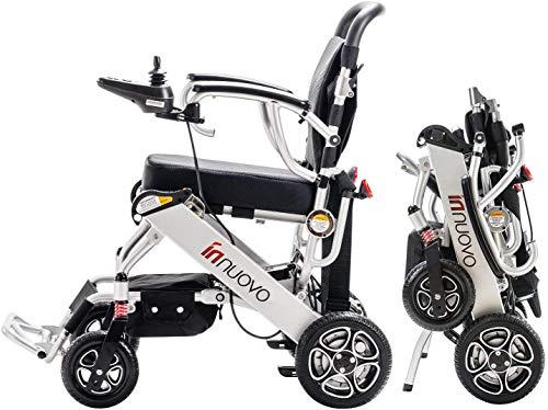 Innuovo Lightweight Foldable Electric Wheelchair